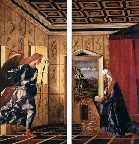 The Annunciation, 1500 - Giovanni Bellini