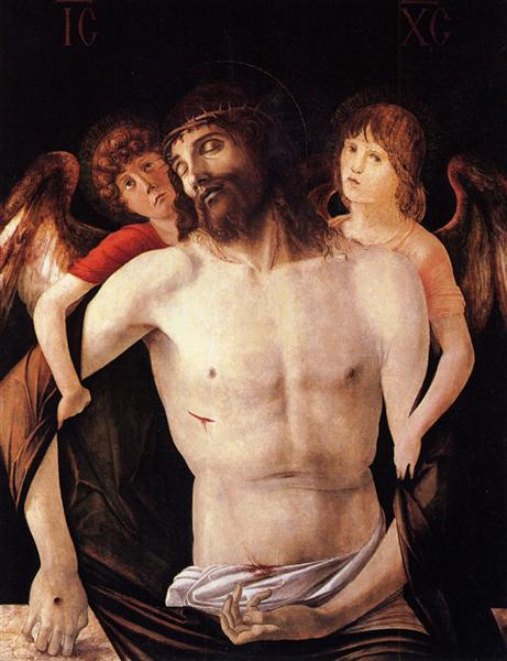 The Dead Christ Supported by Two Angels, 1465 - 1470 - Giovanni Bellini