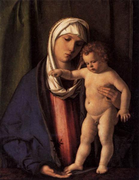 Virgin and Child, 1485 - 1488 - Giovanni Bellini