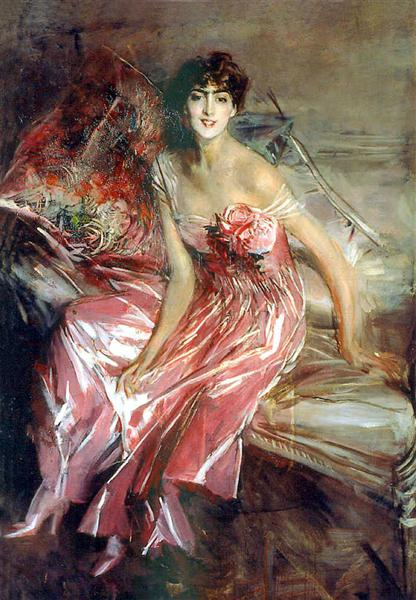 Lady in Rose, 1916 - Giovanni Boldini