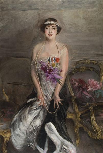 Madame Michelham, 1913 - Giovanni Boldini