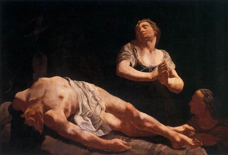 Judith and Holofernes, 1730 - Giulia Lama