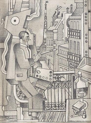 Dessin pour 'Le Peintre', 1923