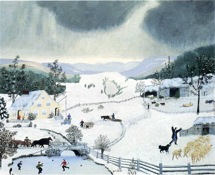 Winter - Grandma Moses
