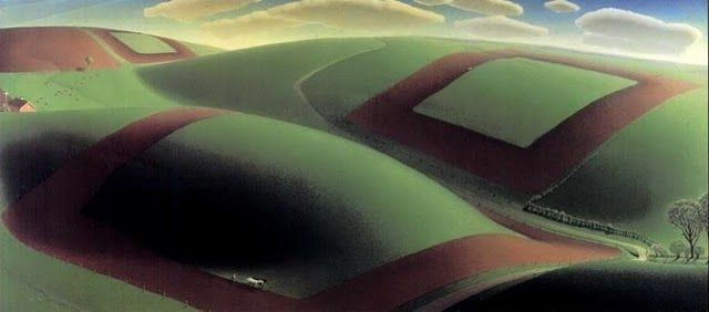 Spring Turning, 1936 - Grant Wood