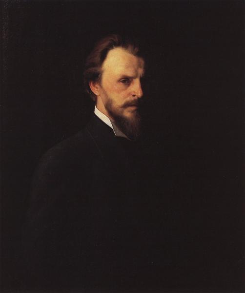 Self-Portrait, 1878 - Grigoriy Myasoyedov