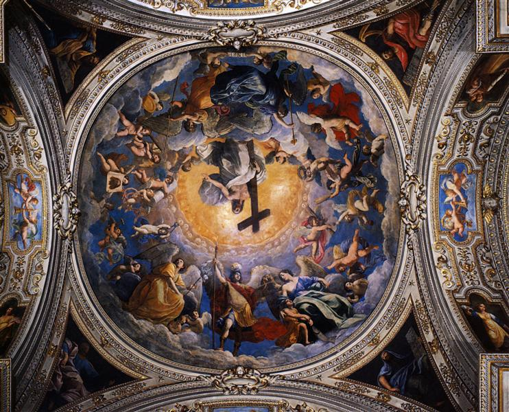Christ in Glory between the angels and archangels, 1621 - Guido Reni