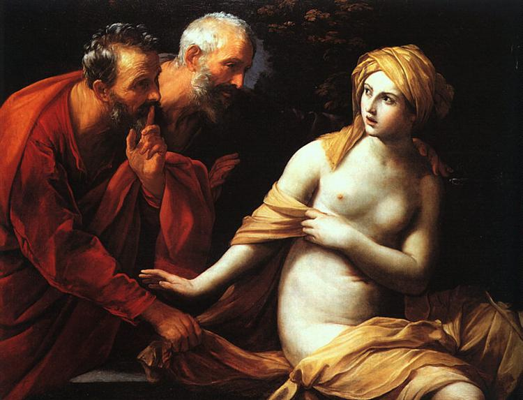 Susanna and the Elders, 1620 - Guido Reni