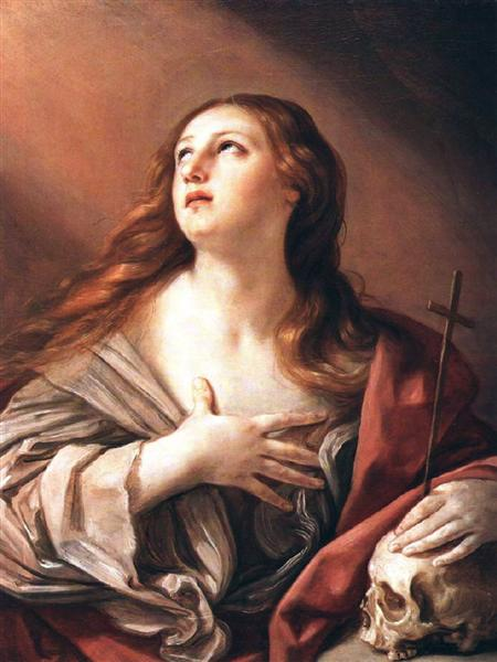 The Penitent Magdalene, 1635 - Guido Reni