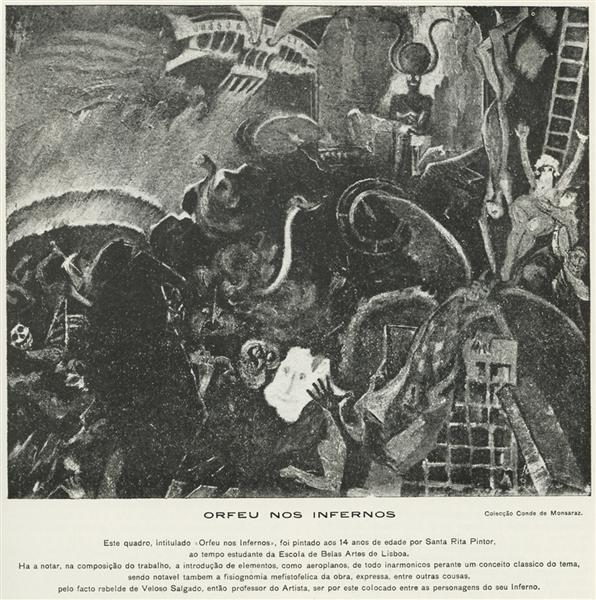 Orfeu nos Infernos, 1904 - Guilherme de Santa-Rita