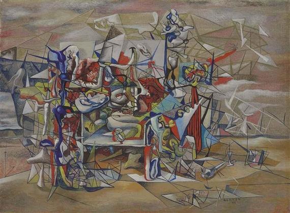 El nacimiento de los pájaros, 1944 - Гюнтер Герцо