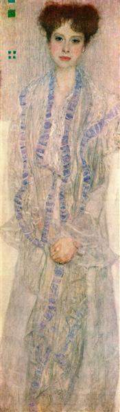 Portrait of Gertha Felssovanyi, 1902 - Gustav Klimt