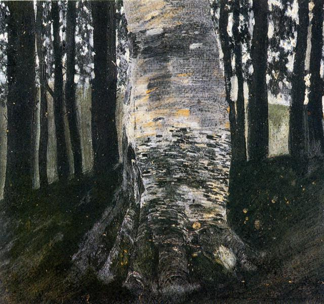 Birch in a Forest, 1903