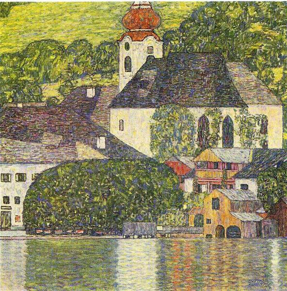 Church in Unterach on the Attersee, 1916 - Gustav Klimt