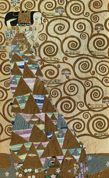 Expectation, 1905 - 1909 - Gustav Klimt