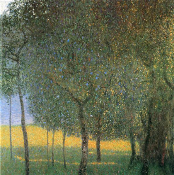 Fruit Trees, 1901 - Gustav Klimt