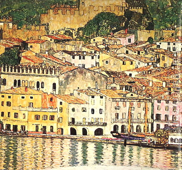 Malcesine on Lake Garda, 1913 - Gustav Klimt