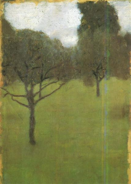 Orchard, 1896 - Gustav Klimt