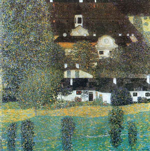 Schloss Kammer am Attersee, II, 1909 - Gustav Klimt