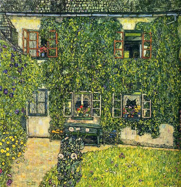 The House of Guardaboschi, 1912 - Gustav Klimt