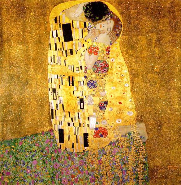 The Kiss, 1907 - 1908 - Gustav Klimt