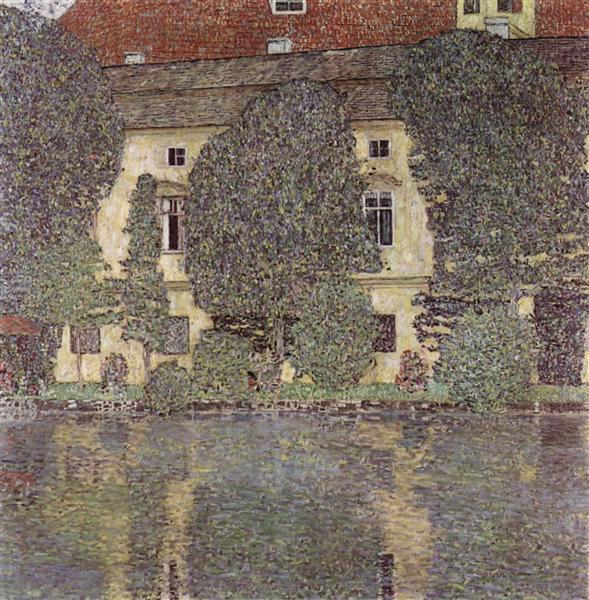 The Schloss Kammer on the Attersee, III, 1910 - Gustav Klimt