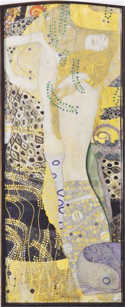 Water snakes I, 1904 - 1907 - Gustav Klimt