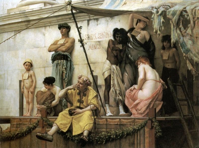 The Slave Market, 1882