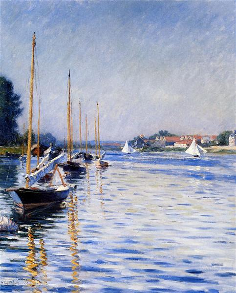 Boats on the Seine, 1892 - Gustave Caillebotte