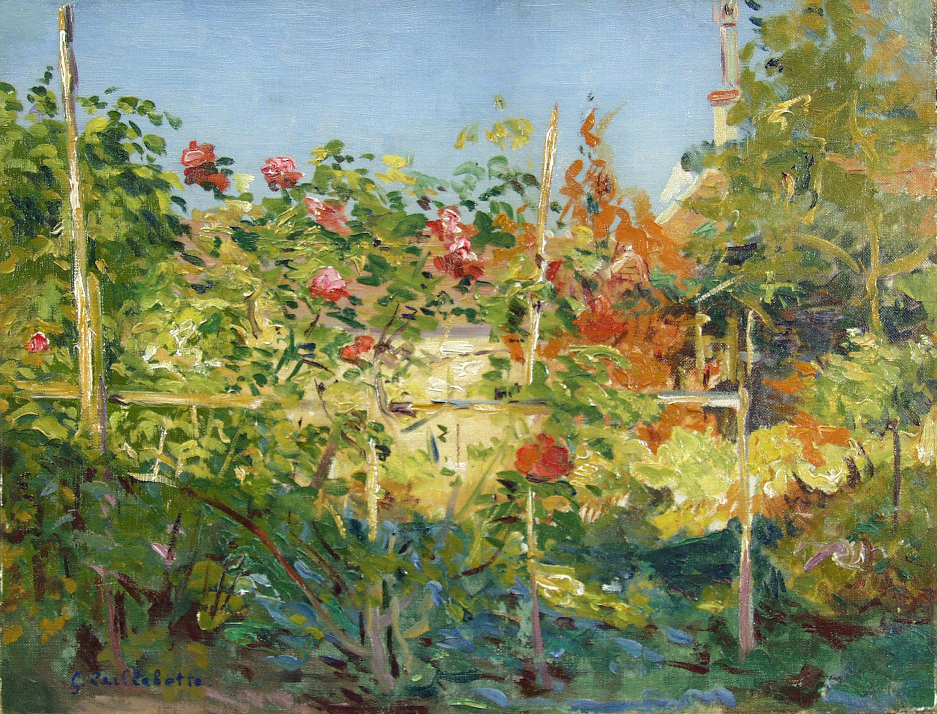 Garten in Trouville, 1882