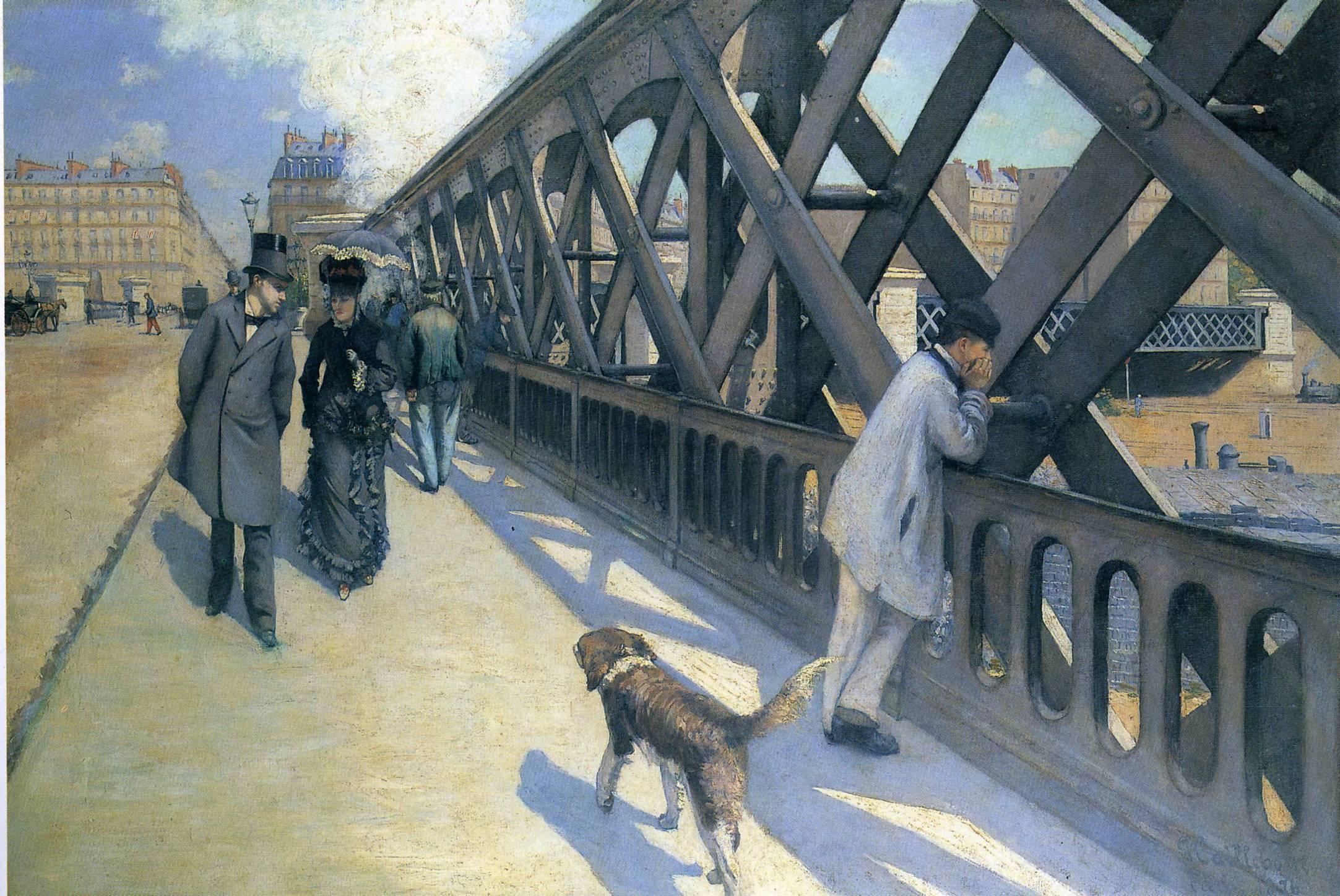 Le Pont de L'Europe, 1881-1882