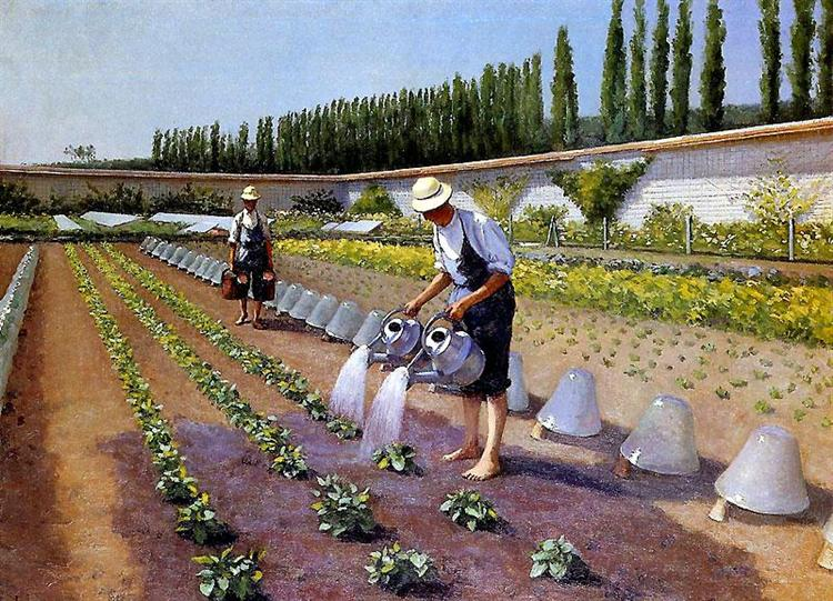 The Gardeners, 1875 - 1877 - Gustave Caillebotte