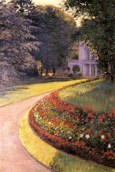 The Park at Yerres, 1877 - Gustave Caillebotte