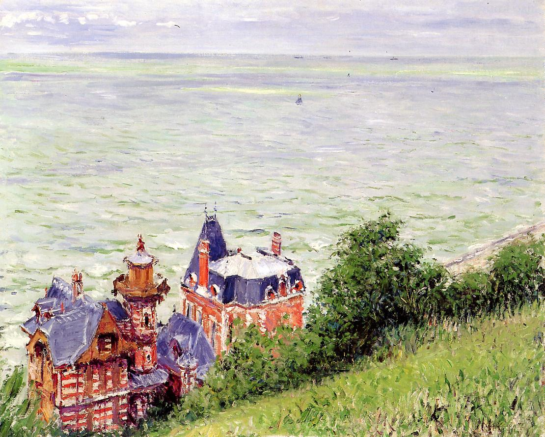 Villas at Trouville, 1884
