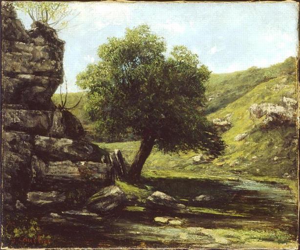 Landscape, 1873 - Gustave Courbet