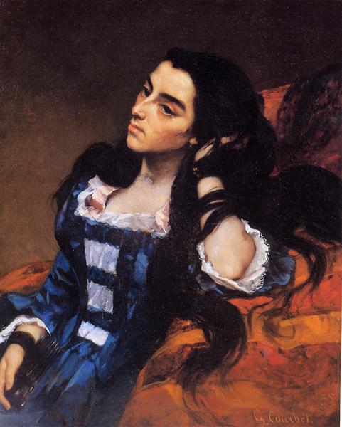 Portrait of a Spanish Lady, 1855 - Gustave Courbet