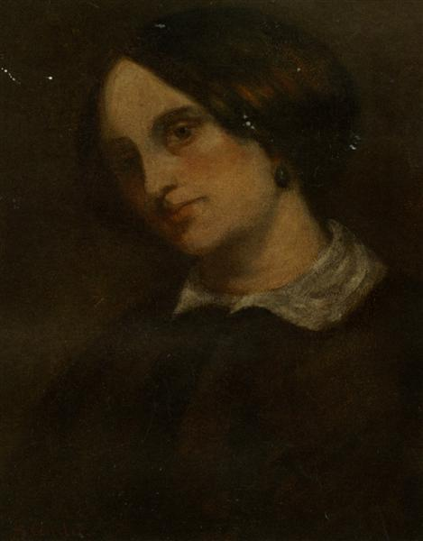 Portrait of Madthilde Couq, 1857 - Gustave Courbet