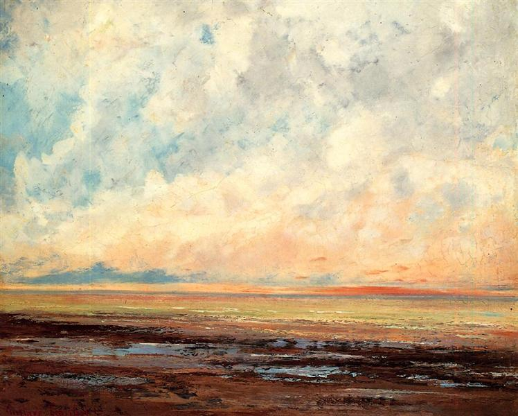 Seascape, 1865 - 1866 - Gustave Courbet