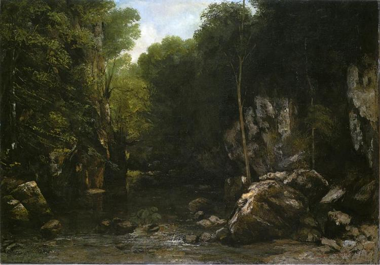 Solitude, 1866 - Gustave Courbet