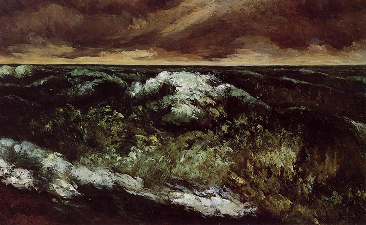 The Angry Sea, c.1869 - c.1870 - Gustave Courbet