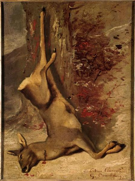 The Deer, 1876 - Gustave Courbet