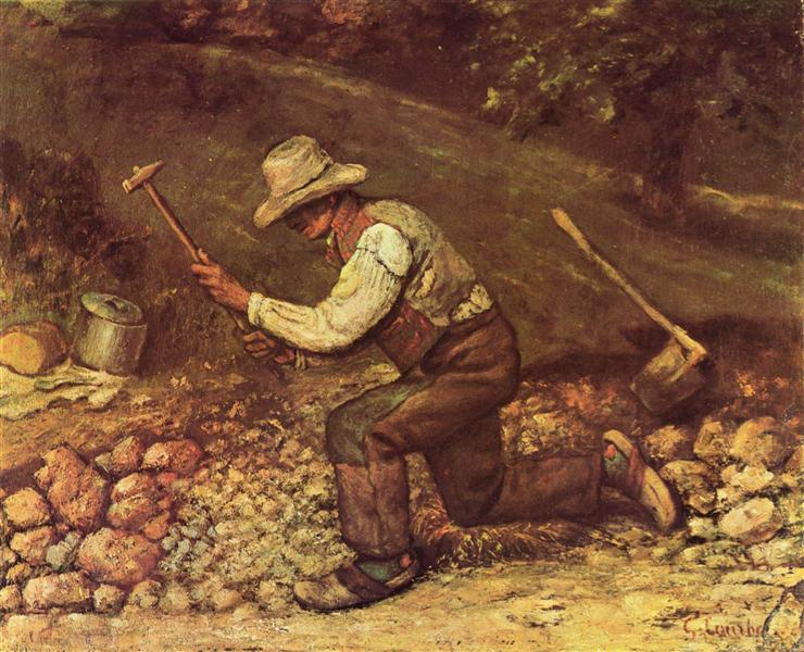 The Stone Breaker, 1849 - Gustave Courbet