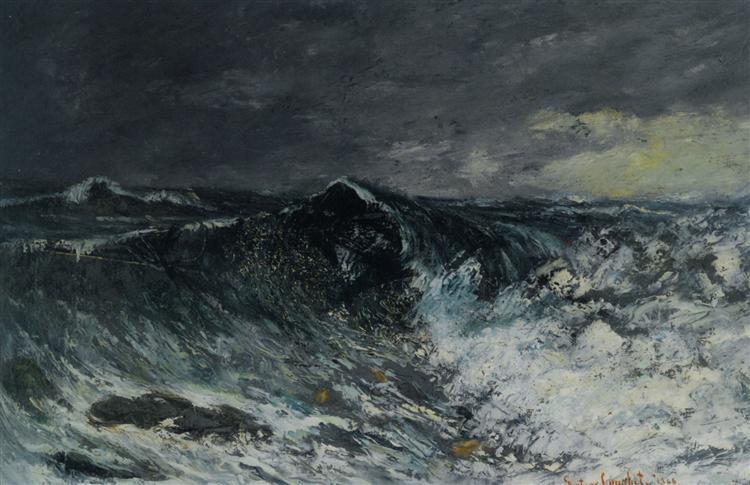 The Wave, 1866 - Gustave Courbet