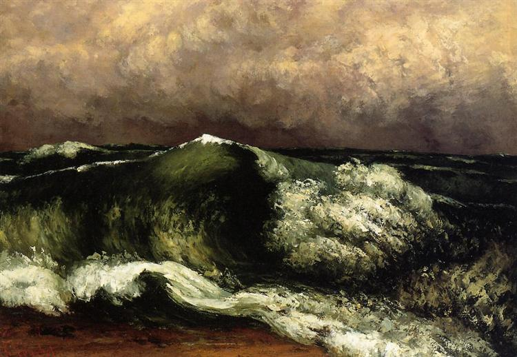 The Wave, 1869 - Gustave Courbet