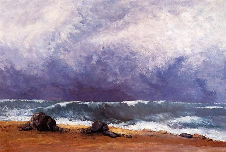 The Wave, 1871 - Gustave Courbet