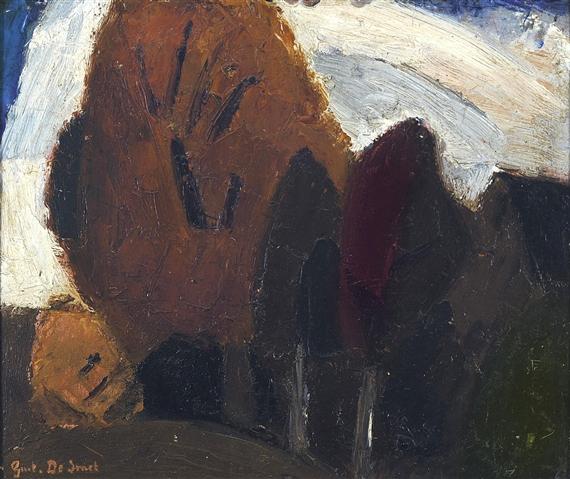 Arbres, 1916 - Густав де Смет