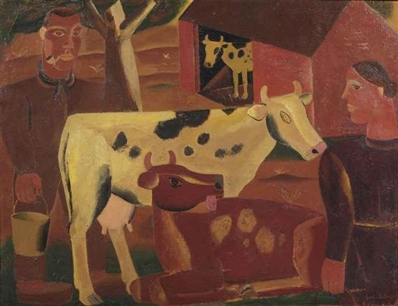 La vie du ferme, 1928 - Gustave de Smet