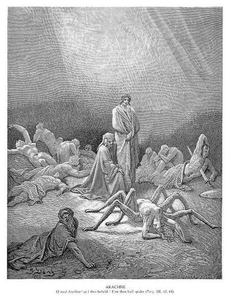 Arachne - Gustave Dore