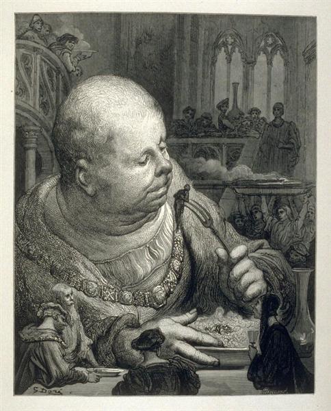 Gargantua, 1873 - Gustave Dore