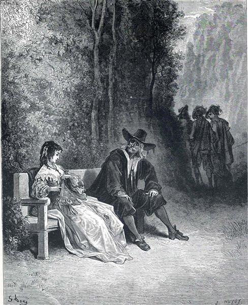 Illustration for The Girl - Gustave Dore
